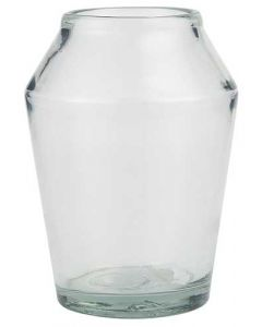 Konisk vase - glas 16cm