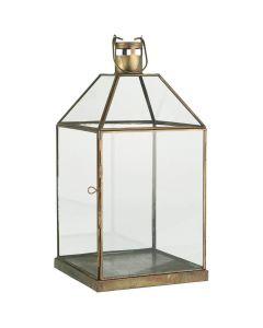 Lanterne Matheo messing - 22x43cm