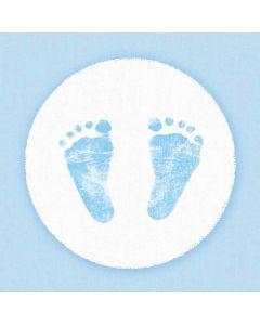 Ambiente 33x33 cm serviet - 20 stk Baby Steps Boy