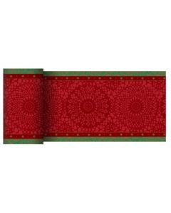 Dunicel bordløber 0,15 x 20 meter Festive charme rød