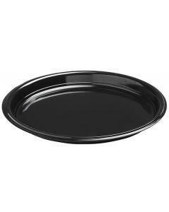 Duni Plasttallerken sort Ø26 cm - 50 stk