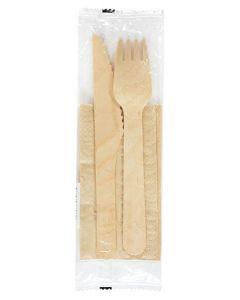 Duni kniv & gaffel i pose