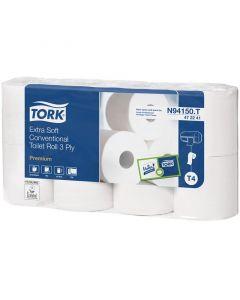 Tork / Lotus toiletpapir 3-lags - 40 ruller