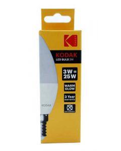 Kodak LED Kertepære E14 - 3W