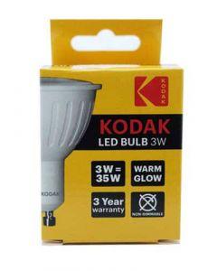 Kodak LED Spotpære GU10 - 3W