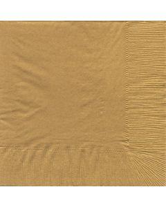 Bækkelund serviet Guld 33x33 cm - 20 stk