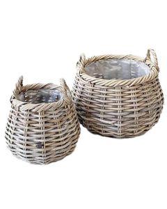 Kurv Rattan bowl - Ø20cm