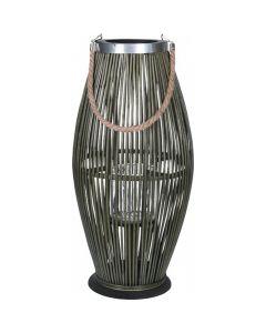 Lanterne Ø22x38cm - Grøn