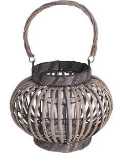 Lanterne bambus 26x19cm