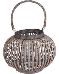 Lanterne bambus 35x27cm