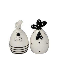 Høne 7cm - Keramik