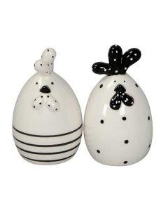 Høne 10cm - Keramik