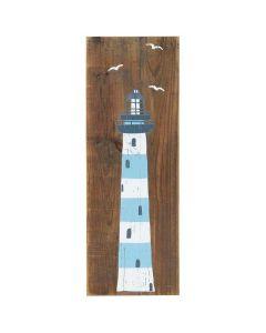Træskilt - Fyrtårn