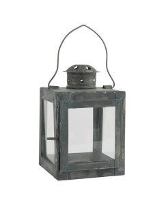 Lanterne t/fyrfadslys - 9x15cm