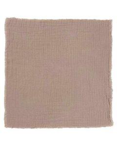 Stofserviet 40x40cm - Lys rosa