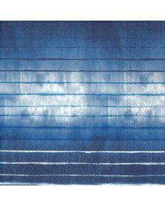 IHR Frokostserviet 33x33cm 20stk - Wave Blå