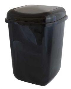 Affaldsspand m/ vippelåg 12L