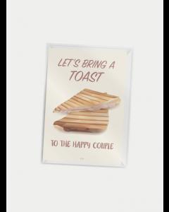 Citatplakat A7 - Let's bring a Toast