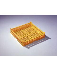 Opvaskebakke - 50x50 cm - Gul