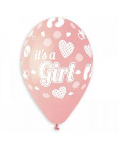 Ballon 10stk - It's a Girl