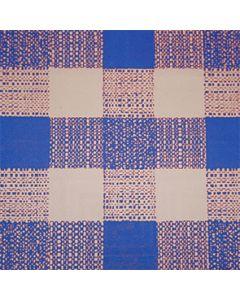 Papirdug 50m - Store tern Blå/hvid