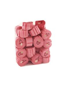 Bolcher Hindbær Lyserød Sut - 1kg