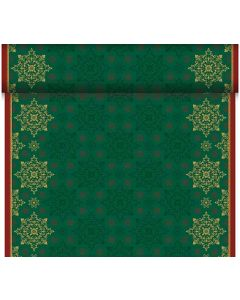 Dunicel bordløber 24m Xmas Deco Green