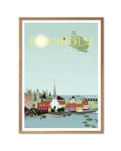 Byplakat - Bornholm