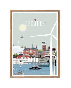 Byplakat - Esbjerg