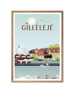 Byplakat - Gilleleje