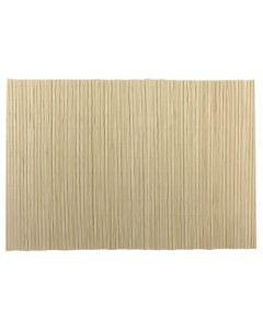 Dækkeserviet Bambus 45x30cm - Lys