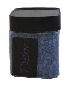 Deco granulat kobolt blå - beholder med 250 ml