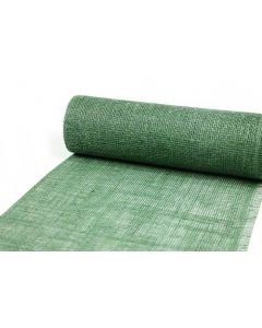 Decojute bordløber 5m x 30cm - Mørkegrøn