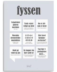 Dialægt Kort - Fyssen