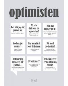 Dialægt kort - Optimisten