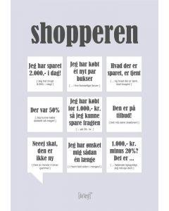 Dialægt kort - Shopperen