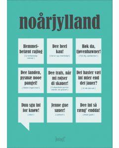 Dialægt Plakat - Noårjylland A3