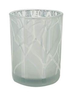 Duni Shimmer fyrfadsstage - Sølv
