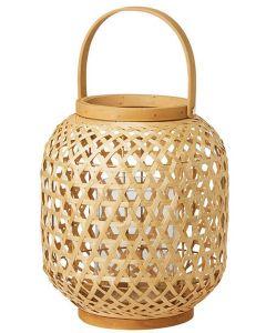 Duni lanterne bambus 25x24cm