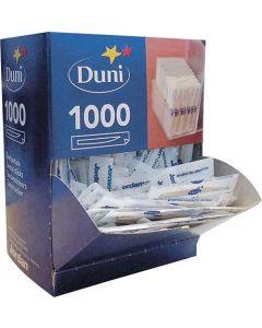 Duni tandstikker indpakket 1000stk