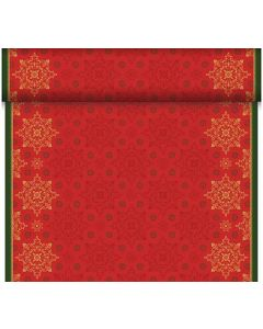 Dunicel bordløber 24m Xmas Deco Red