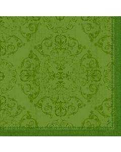 Dunilin Servietter 40x40cm Opulent Leaf Green 45stk