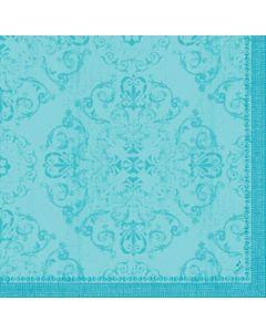 Dunilin Servietter 40x40cm Opulent Mint blå 45stk