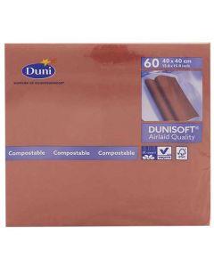 Dunisoft Serviet 40x40cm 60stk - Bordeaux