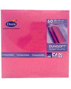 Dunisoft Serviet 40x40cm 60stk - Fuchsia