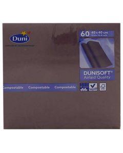 Dunisoft Serviet 40x40cm 60stk - Plum