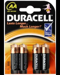 Duracell batterier - AA - 4 stk