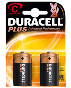 Duracell batterier LR14/C2