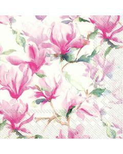 IHR Frokostserviet 33x33cm 3-lags 20stk - Magnolia Poesie