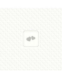 Giorno Festivo hearts silver 33x33 3-lags